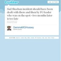 "Hussey bemoans ""laddishness"" in Irish culture"
