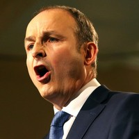 Micheál Martin got a little testy today on his party's chances of winning