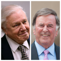 David Attenborough turned down Terry Wogan for a job at the BBC because they already had an Irish announcer...