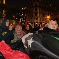 In pictures: Libyans in Ireland celebrate the death of Gaddafi