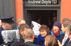 'Get the f*** out of Wicklow': Enda met his first protesters of the election today