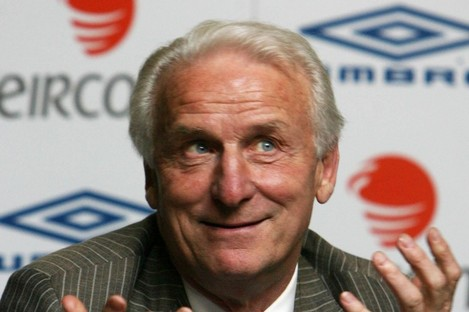 Trapattoni was Ireland manager between 2008 and 2013.