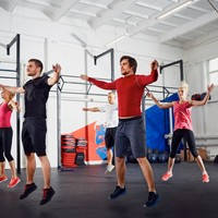 The ultimate HIIT workout - it's week 4 of our gym programme with a personal trainer