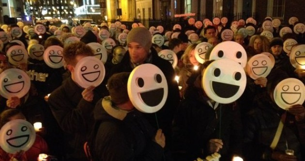 Family of Caoilte O'Broin hold 'Anyone's Brother' candlelit vigil