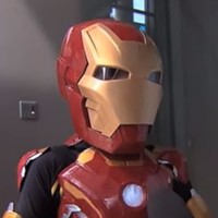 Seriously ill Domenic becomes 'Iron Boy' to fight crime in Sydney