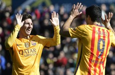 Believe it or not, Lionel Messi has just won his first La Liga Player of the Month award