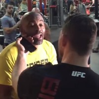 'You were a champion on steroids' - Bisping and Anderson Silva meet ahead of UFC clash