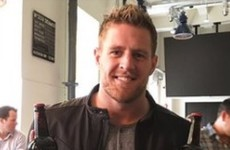 JJ Watt is in Dublin and Guinness have brewed a special beer for the NFL star