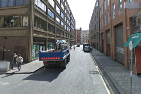 Setanta Place, Dublin, where the woman was robbed