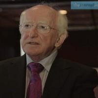 #Áras11 Quickfire Video Quiz: Michael D Higgins