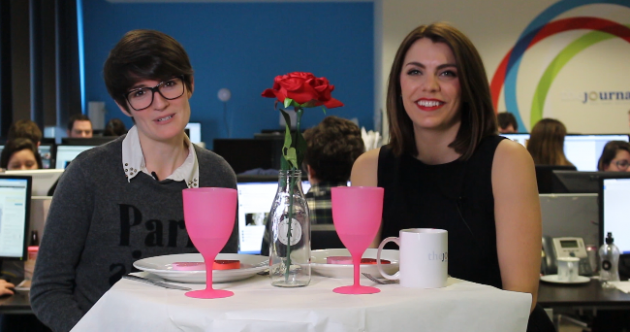 WATCH: Can two people already in a relationship go on a date?