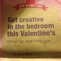 People are deeply confused by this supermarket's Valentine slogan