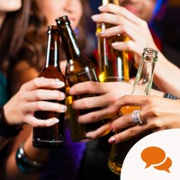 'I'm comfortable with my epilepsy. What is difficult are the assumptions around being a non-drinker'