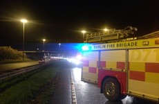 Five-car pile-up causing major delays on M50