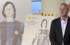 Johan Cruyff says he is '2-0 up in the first half' of his fight against cancer