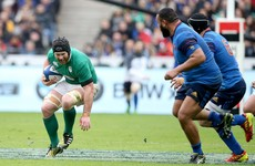 Ireland fear as Sean O'Brien lasts less than 20 minutes against France