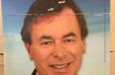 Alan Shatter claims someone is snipping the cable ties on his posters
