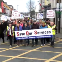 Threatened hospital cuts 'will rip the heart out of' Donegal community