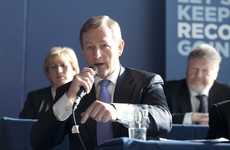 Enda repeatedly refuses to rule out doing a deal with Fianna Fáil