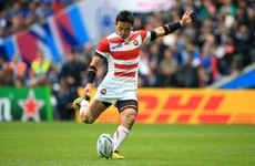 Japan star Ayumu Goromaru to join Toulon according to reports in France
