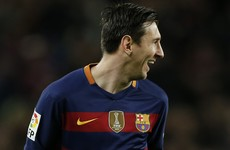 An outrageous Leo Messi penalty capped a sensational Barca display tonight
