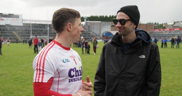 Hollywood actor Jay Baruchel was hanging with Anthony Nash after Galway v Cork