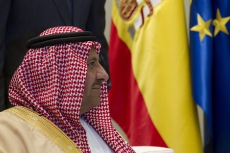 Saudi Arabia's Crown Prince Sultan bin Abdul Aziz Al Saud in Spain in 2010.