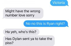 This American girl sent a Valentine's text to every random Irish guy she met when here