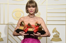 Taylor Swift threw loads of shade at Kanye West in her Grammys speech last night