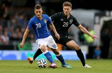 Kilbane: Ireland are man-for-man as good as Italy