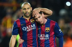 Fans plead with Messi to let Mascherano take next penalty so he can end six-year goal drought