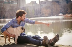 This guy celebrated Valentine's day by setting up a gas photo shoot with his pug