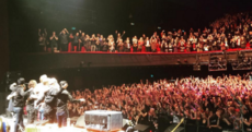 """I'm Parisian now!"" - Tears flow at emotional Eagles of Death Metal Paris return"