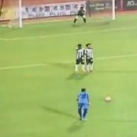 Even Roberto Carlos might be envious of this incredible free-kick