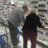 A photo of an elderly couple shopping for make-up is warming everyone's hearts