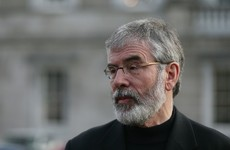 """Minister calls Adams """"a man who takes off socks to count to 20"""" after RTÉ interview"""