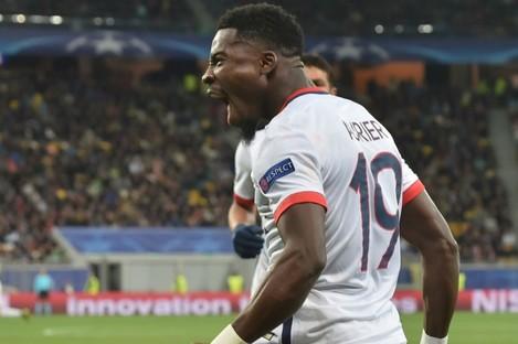 Paris Saint-Germain full-back Serge Aurier.