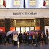 Form an orderly queue: Brown Thomas has been granted a full bar licence