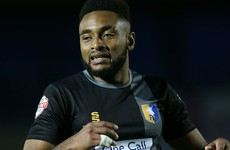 FA investigating claims Mansfield striker urinated as he warmed-up on touchline