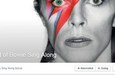 There's going to be a big David Bowie singalong in this Dublin pub next weekend