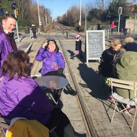 This Dublin cafe has been making the most of the Luas strikes