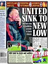 Friday's back pages all carry a similar theme as pressure builds on Louis van Gaal