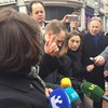Mary Lou had a row with a concerned citizen on Grafton Street this morning