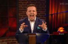 Oliver Callan nailed impressions of Joan Burton and Enda Kenny on the Late Late