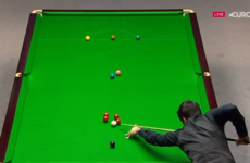 Ronnie O'Sullivan shows why he's a cut above the rest with this outrageous plant