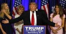 Trump wins big in South Carolina Republican primary as Jeb Bush drops out of race