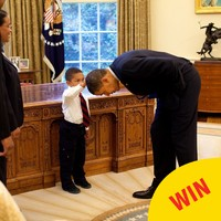 #ObamaAndKids is the cutest hashtag you'll see today