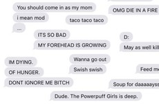 This man made a brilliant collage of his wife's most random texts