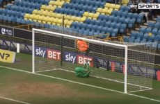 Millwall keeper makes one of the saves of the season - without using his hands