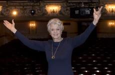 Angela Lansbury collects tribute award at Dublin International Film Festival